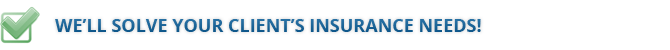 solving insurance needs logo